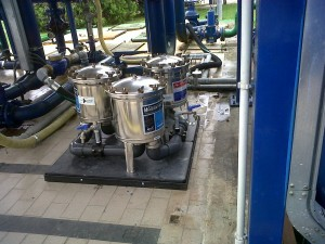 pilot plant  for tests