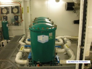 300 m3h desalination r.o. pre filtration